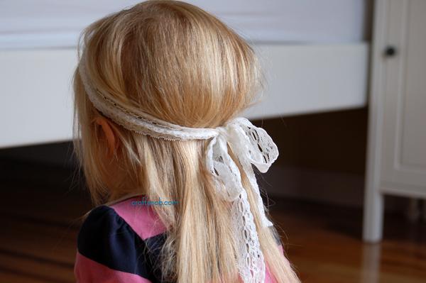 Bow-tied headband 2