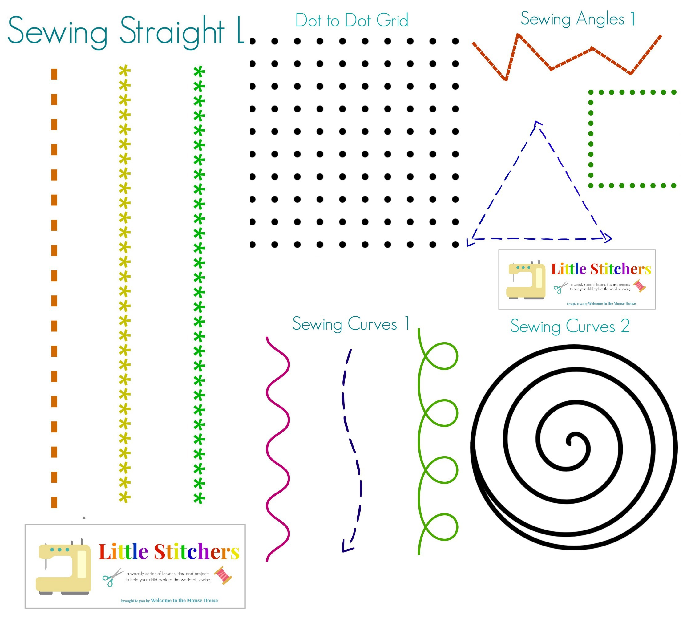 sewing in a straight line pdf download