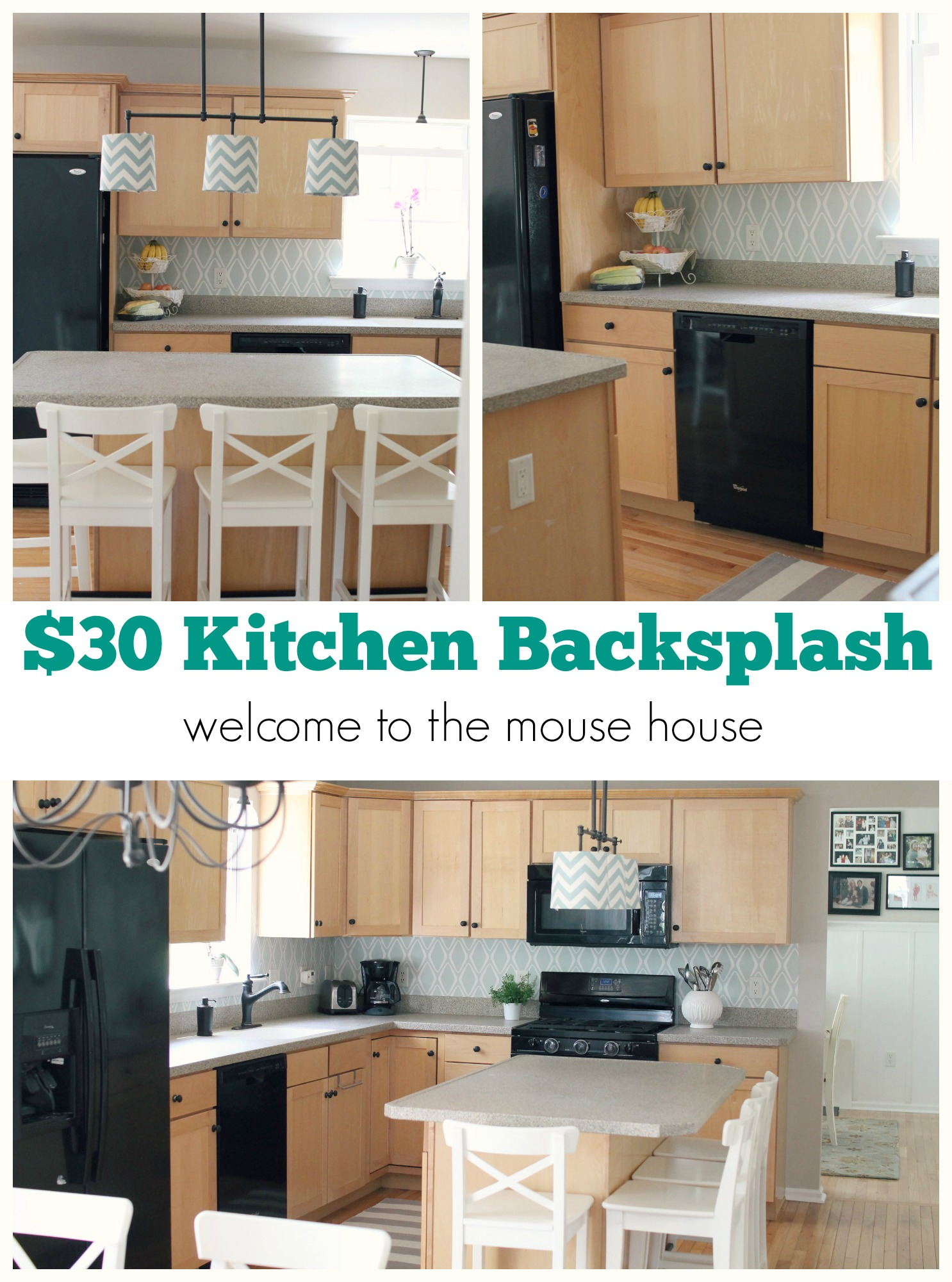Easy kitchen backsplash 30 target wallpaper for Kitchen backsplash wallpaper