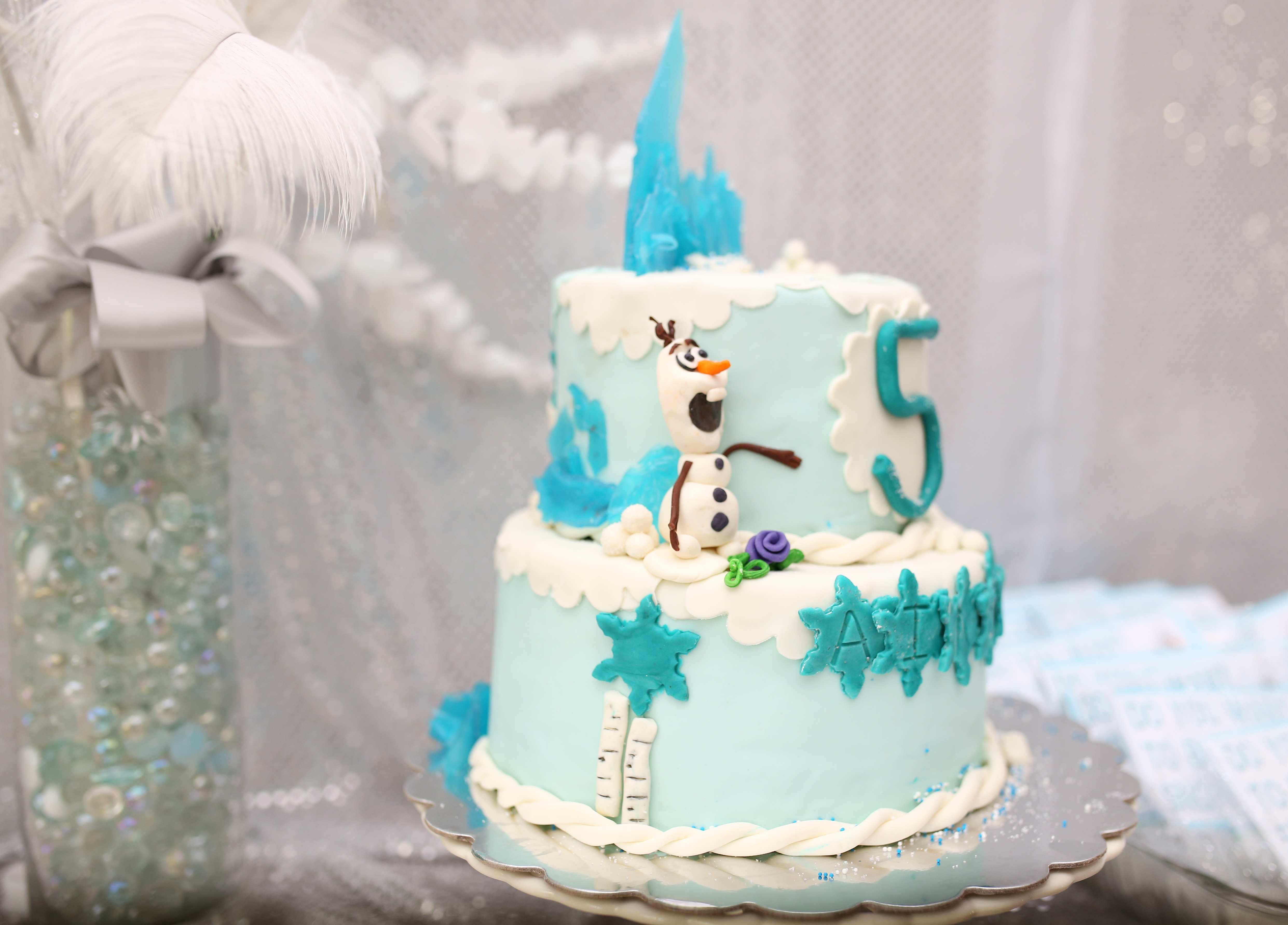 Frozen Birthday Party for Ainsley