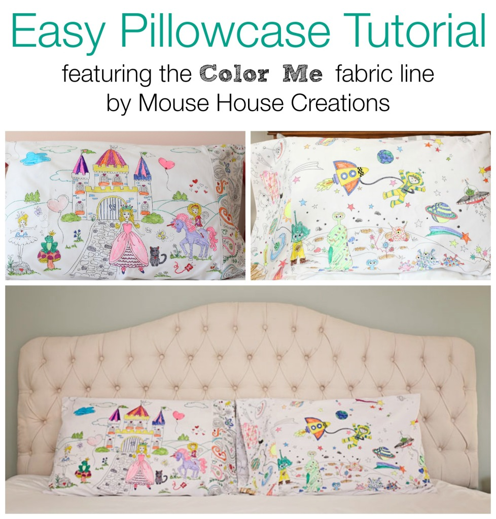 color me pillowcase cover