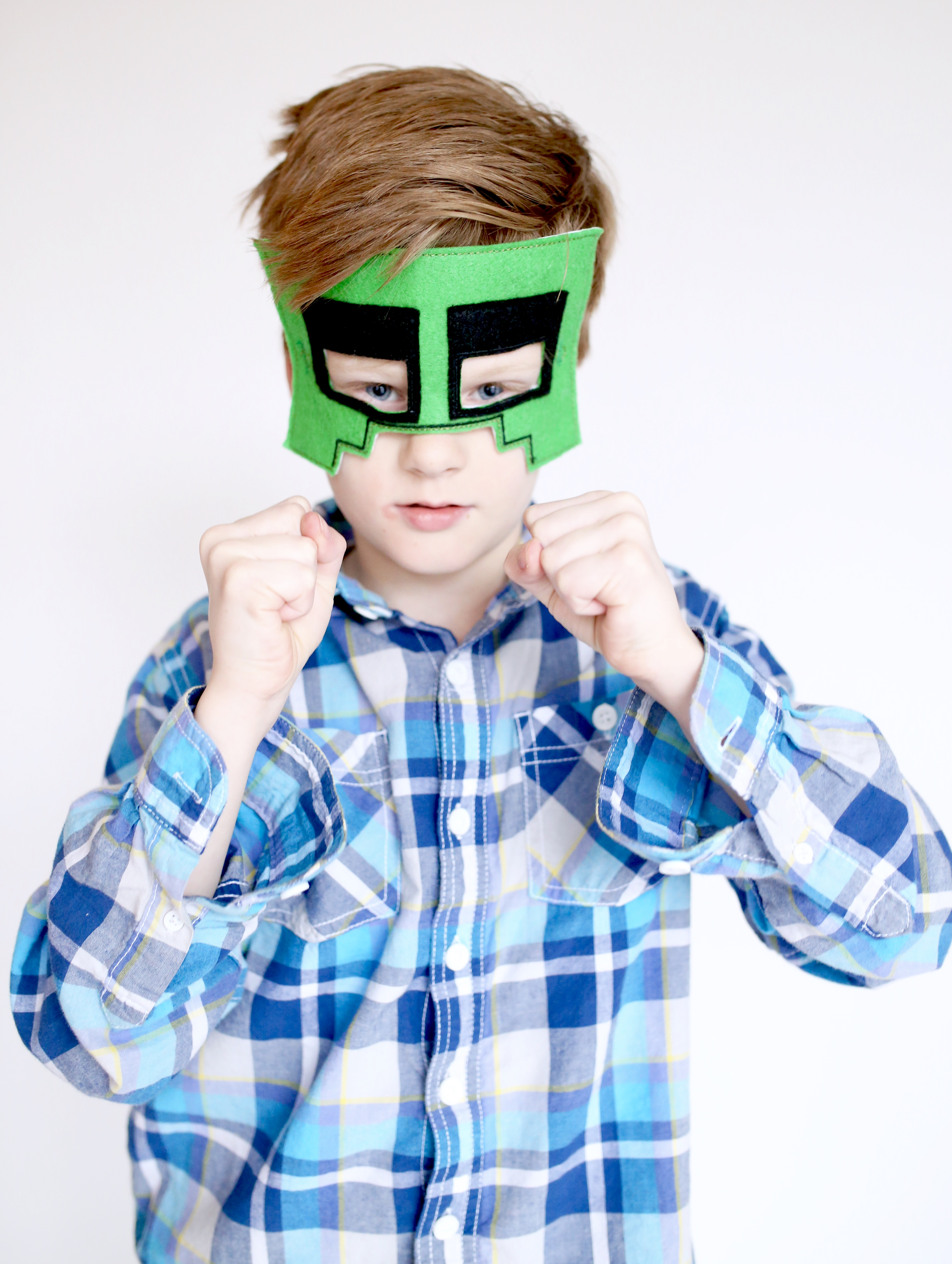 Minecraft Masks ITH Embroidery