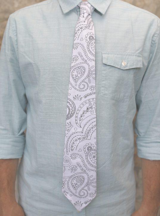 Color Me Tie: Paisley