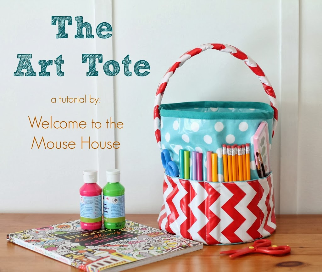 The Art Tote Sewing Tutorial