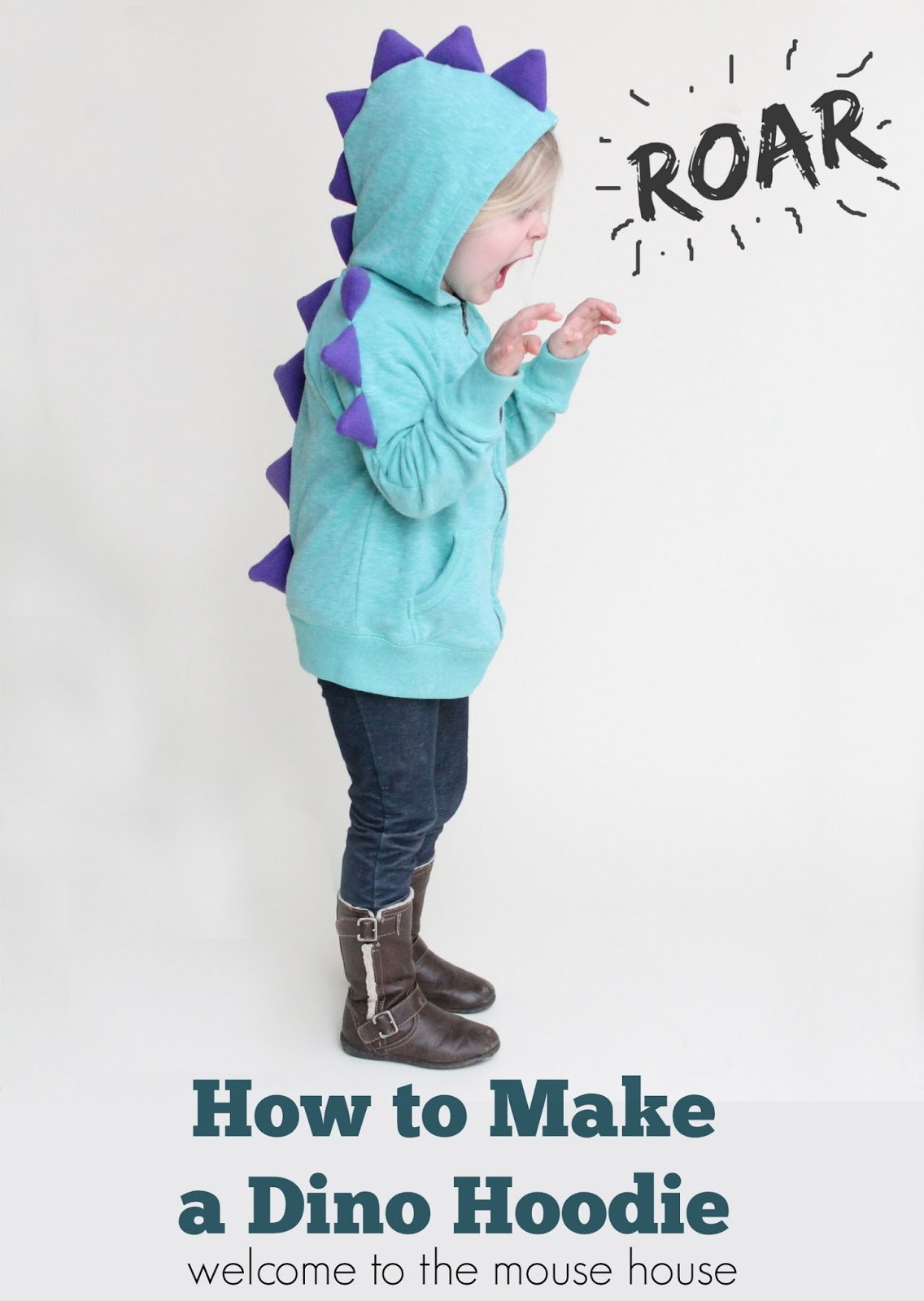 How to make a dinosaur hoodie calling all kids how to make a dinosaur hoodie calling all kids solutioingenieria Image collections
