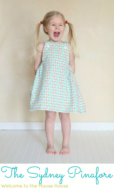 The Sydney Pinafore Free Pattern Welcometothemousehouse Com