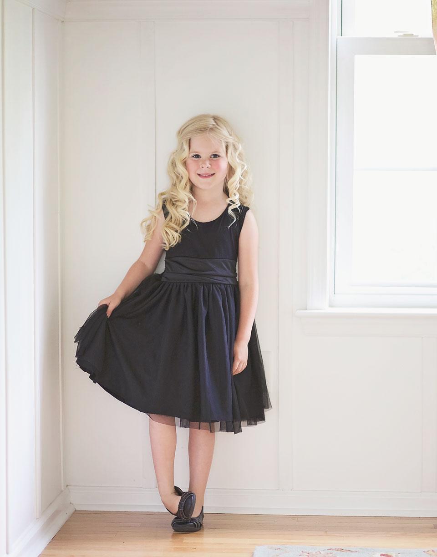 Ainsley\'s Singing Recital: Modified Caroline Party Dress