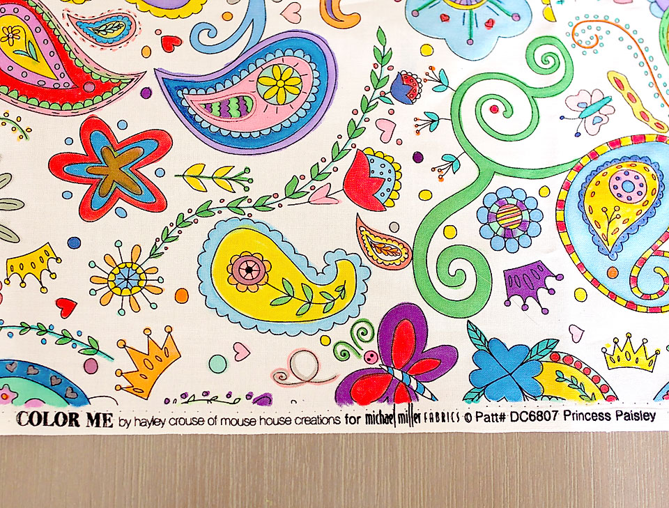 coloring fabric with markers - BeautifulElegance