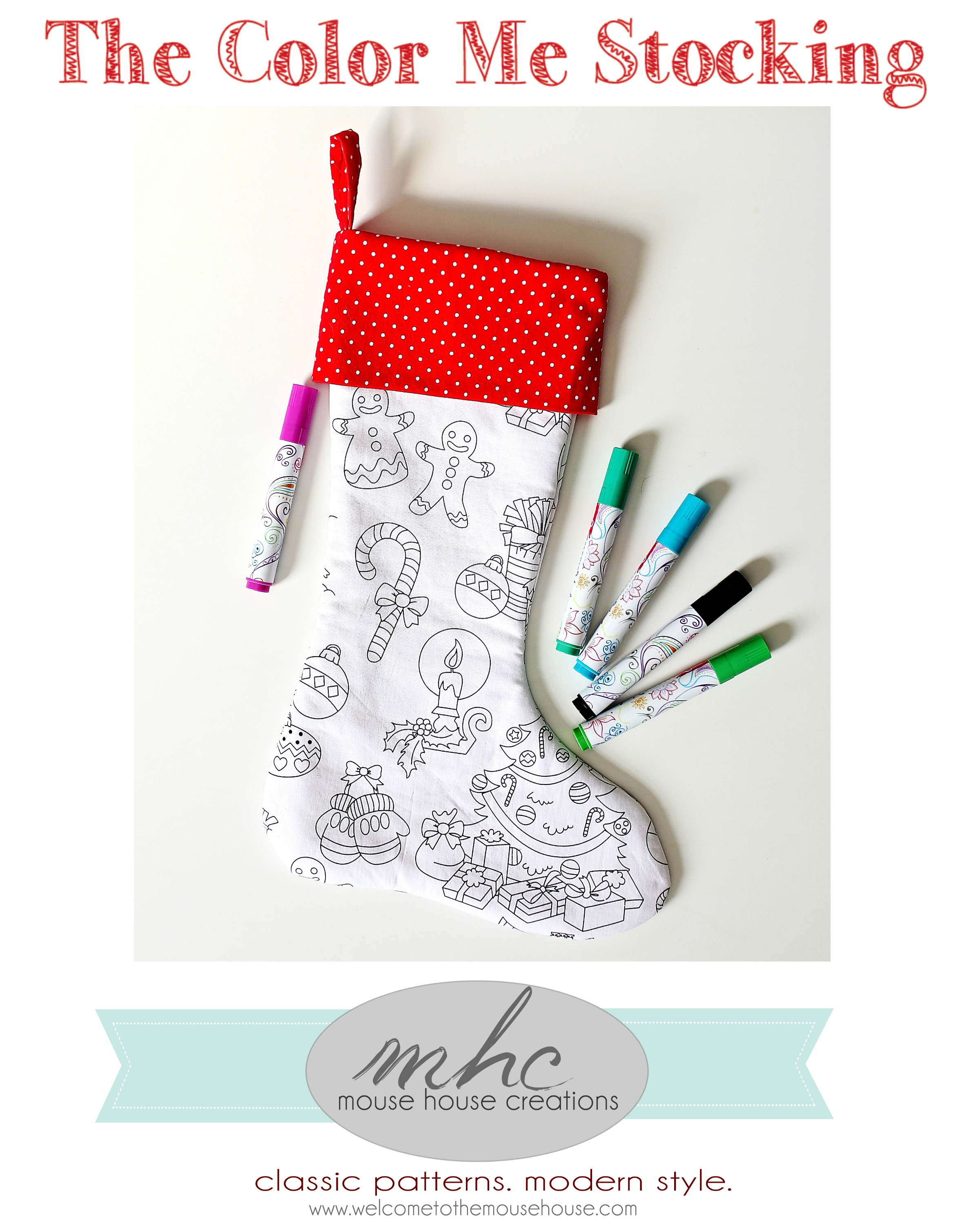 color me stocking pattern cover