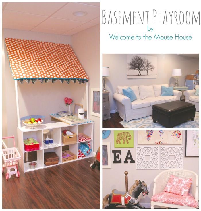 A Basement Playroom