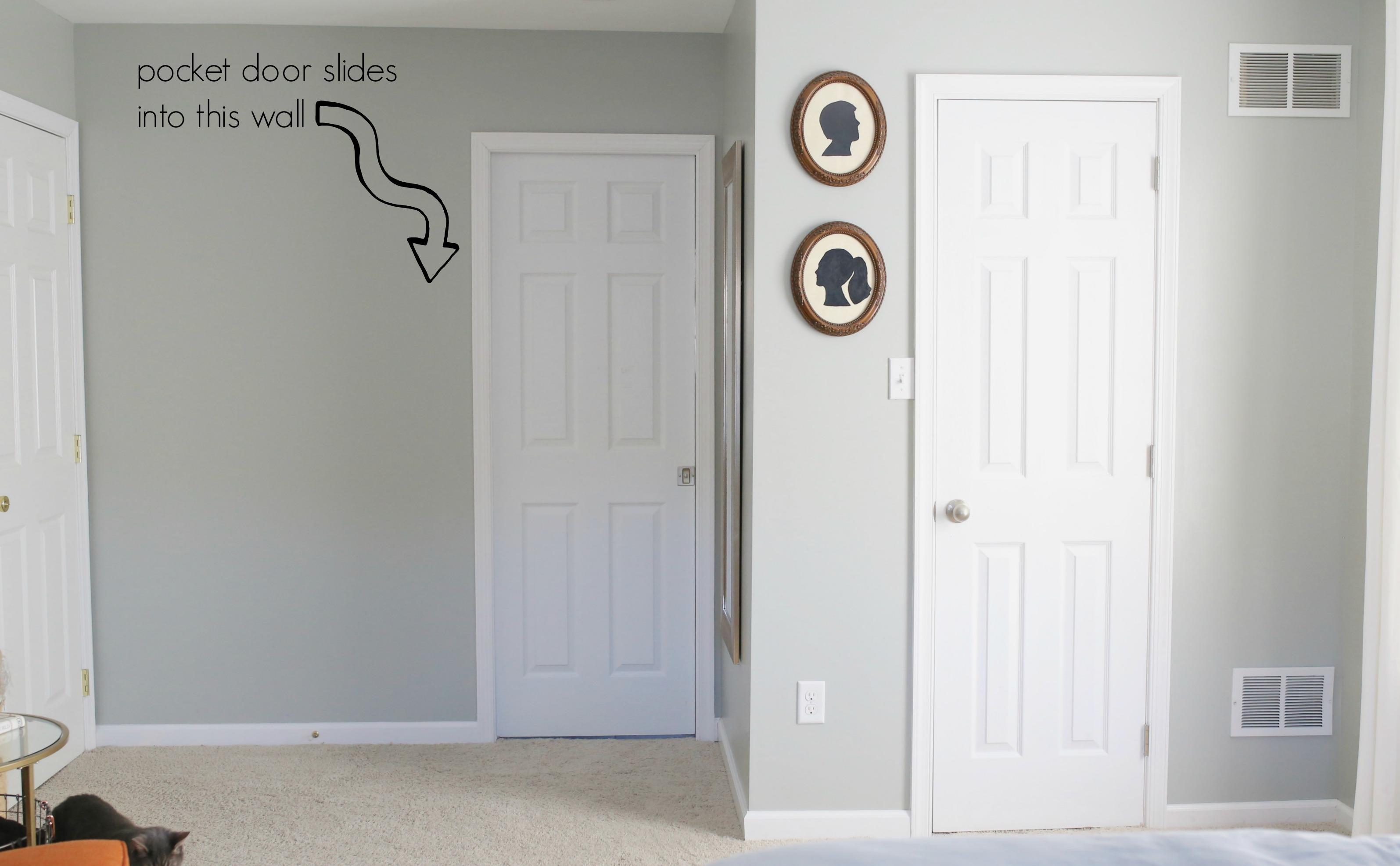 Master bathroom remodel for Master bathroom door