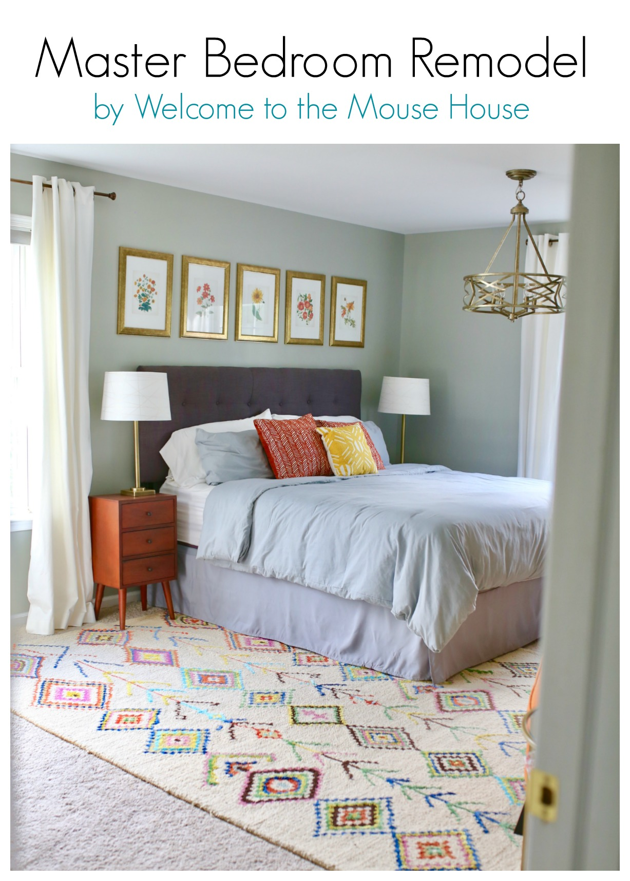 Master Bedroom Remodel: Reveal - welcometothemousehouse.com